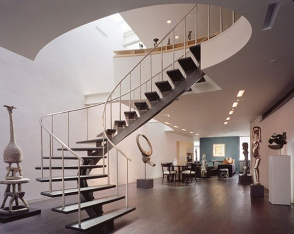 indoor-spiral-staircase