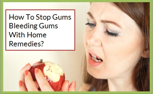 Stop Gums Bleeding Gums